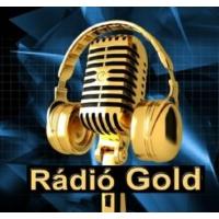 Logo of radio station Rádió Gold (H)