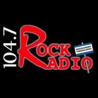 Logo de la radio Rock Radio 104.7 FM