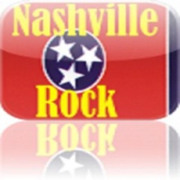 Logo of radio station Nashville Rock
