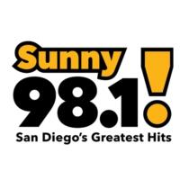Logo of radio station KXSN Sunny 98.1
