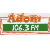 Logo de la radio Adom FM 106.3