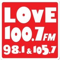Logo de la radio Love FM 100.7