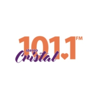 Logo of radio station Stereo Cristal 101.1 FM
