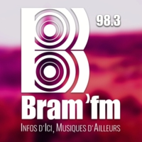 Logo of radio station Bram'FM