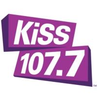 Logo of radio station CFRV-FM KiSS 107.7