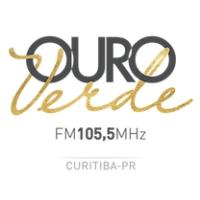 Logo of radio station Radio Ouro Verde