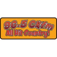 Logo of radio station 96.5 CKFM