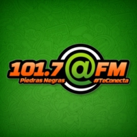 Logo of radio station XHCPN @ FM 101.7