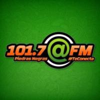 Logo de la radio XHCPN @ FM 101.7