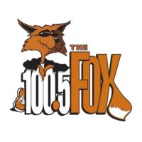 Logo of radio station KBFX 100.5 The Fox