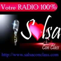Logo de la radio GRooViN' SALSA con CLASS