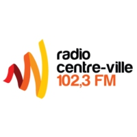 Logo of radio station CINQ-FM Radio Centre-Ville 102.3 FM