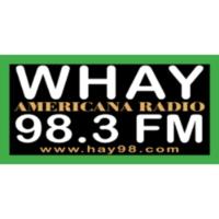 Logo of radio station WHAY 98.3FM