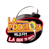 Logo of radio station XHMAC La Poderosa 95.3 FM