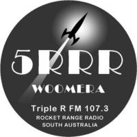 Logo de la radio Triple R 107.3 FM Woomera