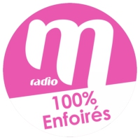 Logo of radio station M Radio - 100% Enfoirés