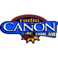 Logo de la radio XHTGO Radio Cañon 1100 AM