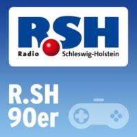 Logo of radio station R.SH 90er