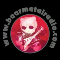 Logo of radio station Bear Metal Radio