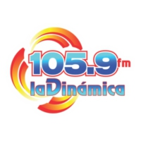 Logo of radio station La Dinámica 105.9 FM