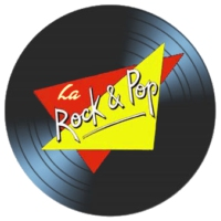 Logo of radio station LA ROCK & POP