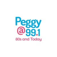 Logo of radio station CJGV-FM Peggy 99.1