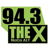 Logo de la radio KKQZ 94.3 THE X