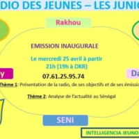 Logo of radio station LES JUNIORS