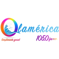 Logo de la radio Ola América