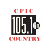 Logo of radio station CFIC Hot Country 105 FM