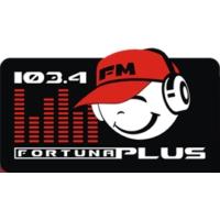 Logo de la radio რადიო ფორტუნა პლუსი FM 103.4