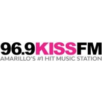Logo de la radio KXSS-FM Kiss FM 96.9