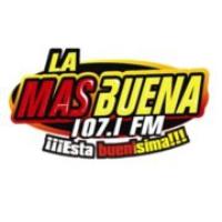 Logo of radio station La Más Buena FM