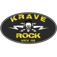 Logo de la radio KRCK-DB / KRAVE ROCK