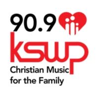 Logo of radio station KSWP 90.9 FM