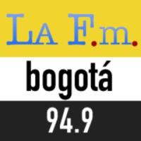Logo of radio station La FM 94.9 Bogotá