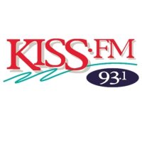 Logo of radio station 93.1 KISS-FM