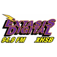 Logo of radio station XHEOO Éxtasis Digital 96.1 FM