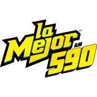 Logo of radio station XEFD-AM La Mejor 590