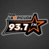 Logo of radio station XHTEY Fiesta La más Picuda 93.7 FM