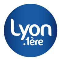 Logo of radio station Lyon 1ère