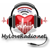 Logo of radio station MyLoveRadio
