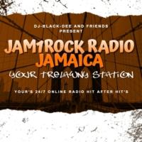 Logo of radio station JAM1ROCK RADIO JAMAICA