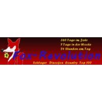 Logo of radio station Fox-Revolution