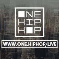 Logo of radio station One love Hip Hop Radio