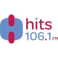 Logo of radio station XHITS Hits 106.1 FM