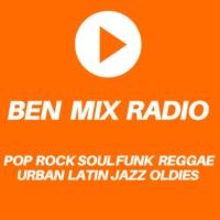 Logo of radio station BEN MIX RADIO