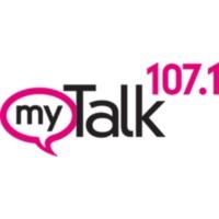Logo of radio station KTMY 107 FM