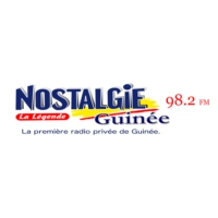 Logo of radio station Nostalgie Guinée