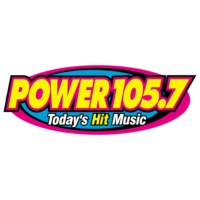 Logo of radio station KMCK Power 105.7